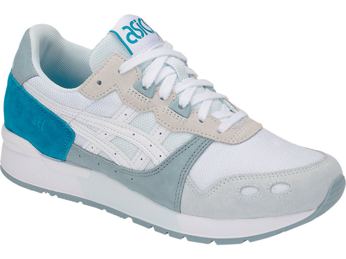 Front Right view of GEL-LYTE, ARCTIC BLUE/WHITE