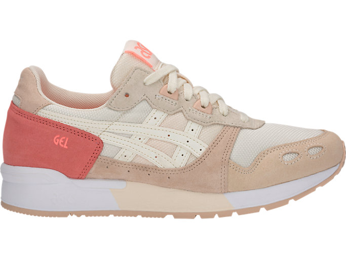 Right side view of GEL-LYTE, SEASHELL/IVORY