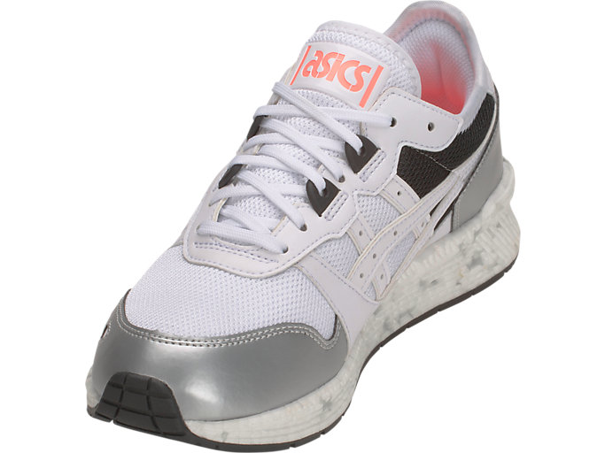 Front Left view of HyperGEL-LYTE, WHITE/WHITE
