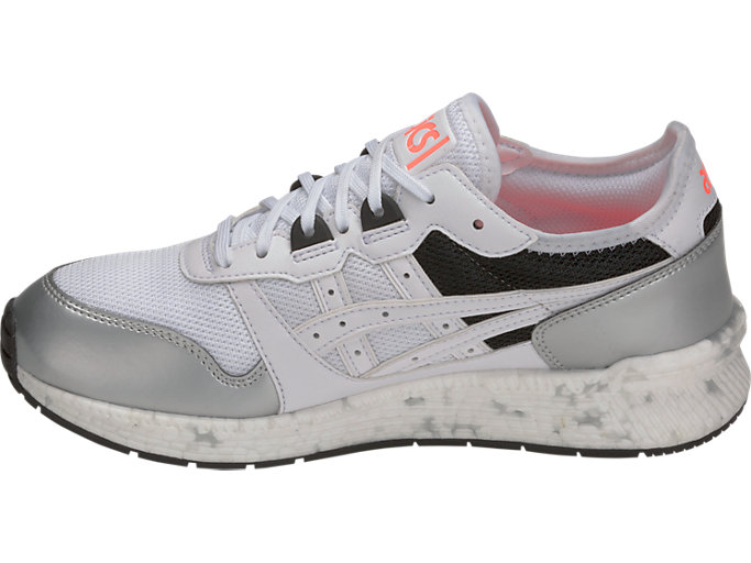 Left side view of HyperGEL-LYTE, WHITE/WHITE