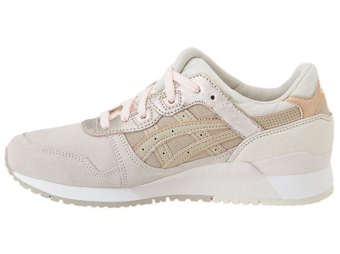Left side view of GEL-LYTE III, BLUSH/FEATHER GREY