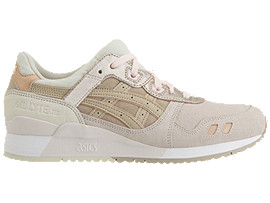 Right side view of GEL-LYTE III, BLUSH/FEATHER GREY