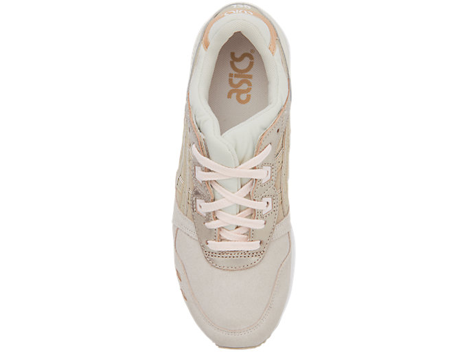 Top view of GEL-LYTE III, BLUSH/FEATHER GREY