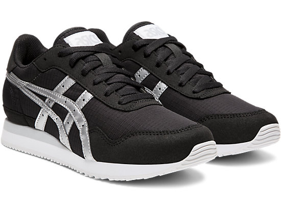 TIGER RUNNER BLACK/SILVER