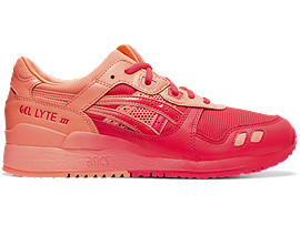 Right side view of GEL-LYTE III, LASER PINK/LASER PINK
