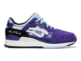 Right side view of GEL-LYTE™ III, GENTRY PURPLE/WHITE