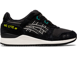 Right side view of GEL-LYTE III OG, BLACK/BLACK