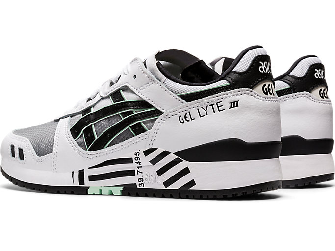 Front Left view of GEL-LYTE III OG, WHITE/BLACK