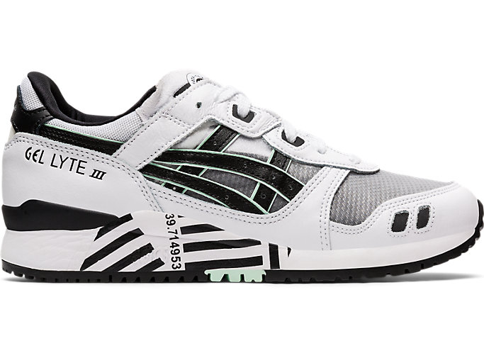 Right side view of GEL-LYTE III OG, WHITE/BLACK