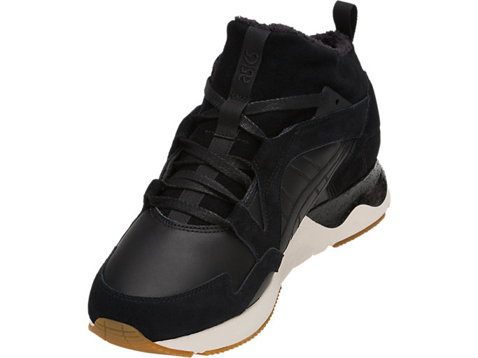 Front Left view of GEL-LYTE V SANZE MT, BLACK/BLACK