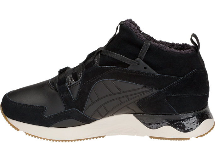 Left side view of GEL-LYTE V SANZE MT, BLACK/BLACK
