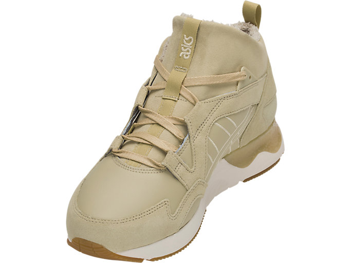 Front Left view of GEL-LYTE V SANZE MT, SAND/SAND