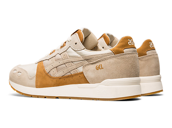 Front Left view of GEL-LYTE, FEATHER GREY/FEATHER GREY