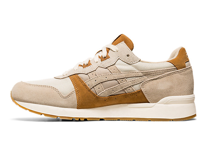 Left side view of GEL-LYTE, FEATHER GREY/FEATHER GREY