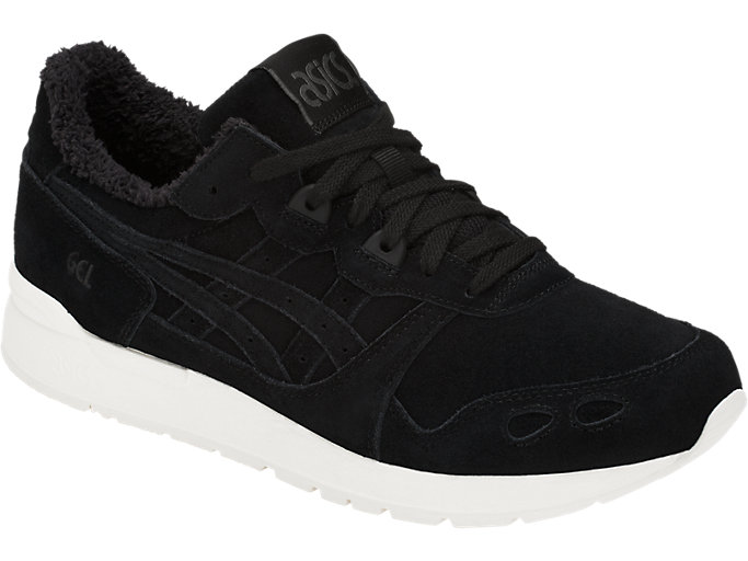 Front Right view of GEL-LYTE, BLACK/BLACK