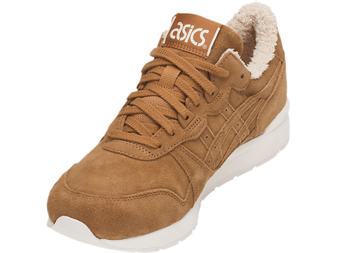 Front Left view of GEL-LYTE, CARAMEL/CARAMEL