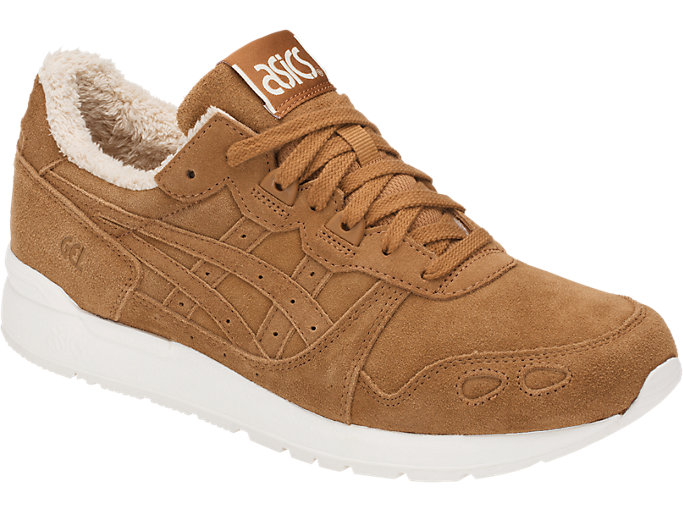 Front Right view of GEL-LYTE, CARAMEL/CARAMEL
