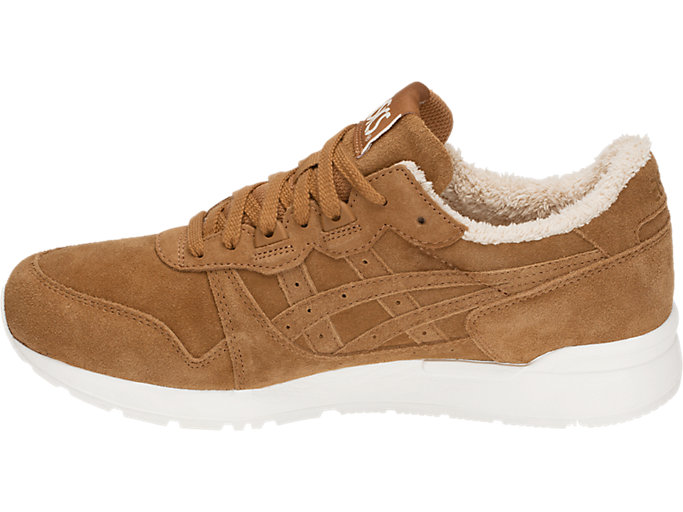 Left side view of GEL-LYTE, CARAMEL/CARAMEL