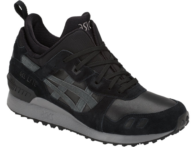 Front Right view of GEL-LYTE MT, BLACK/DARK GREY