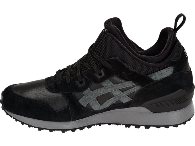 Left side view of GEL-LYTE MT, BLACK/DARK GREY