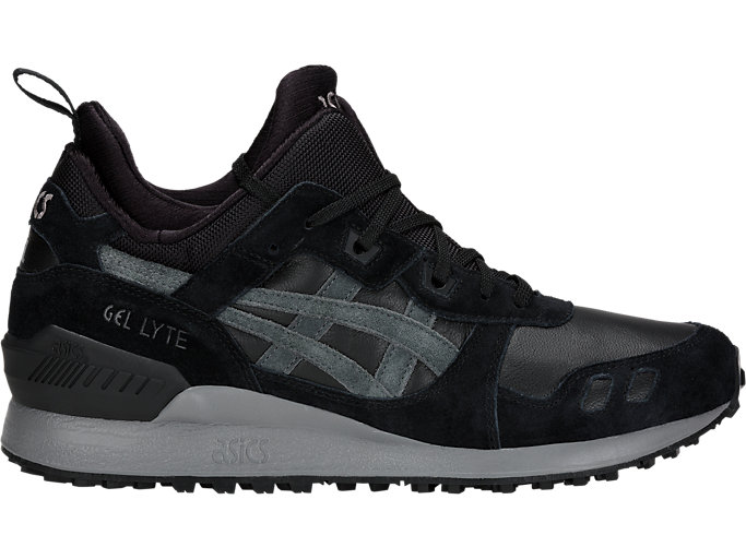 Right side view of GEL-LYTE MT, BLACK/DARK GREY