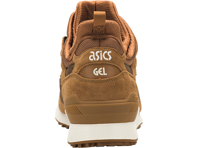 Back view of GEL-LYTE MT, CARAMEL/BROWN STORM