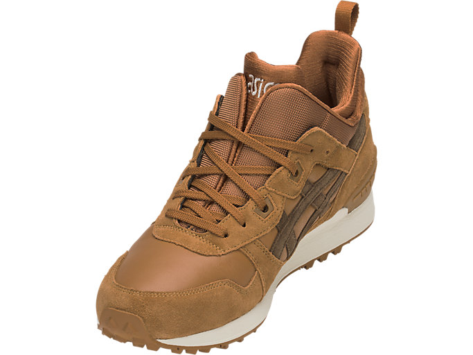 Front Left view of GEL-LYTE MT, CARAMEL/BROWN STORM