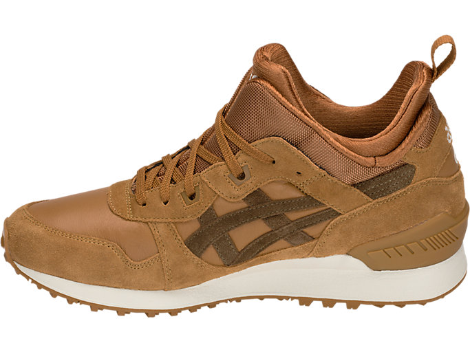 Left side view of GEL-LYTE MT, CARAMEL/BROWN STORM