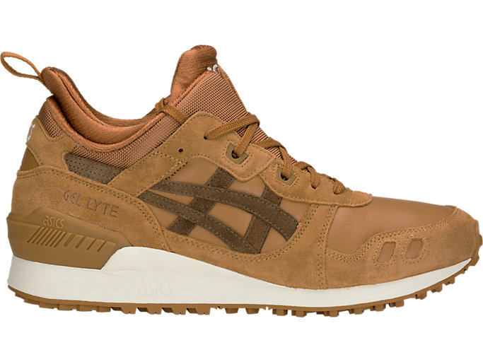 Right side view of GEL-LYTE MT, CARAMEL/BROWN STORM