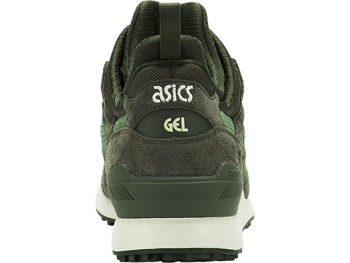Back view of GEL-LYTE MT, FOREST/MOSS