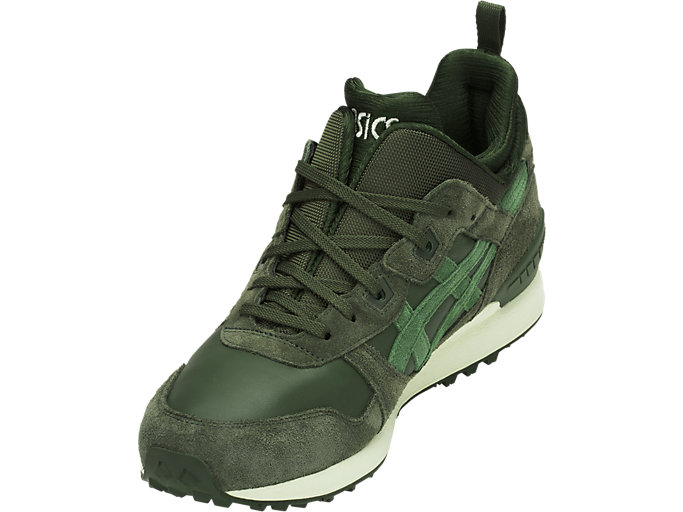 Front Left view of GEL-LYTE MT, FOREST/MOSS