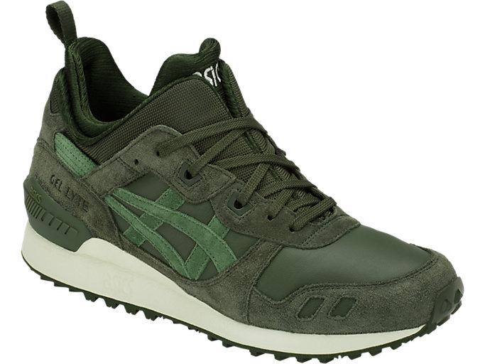 Front Right view of GEL-LYTE MT, FOREST/MOSS