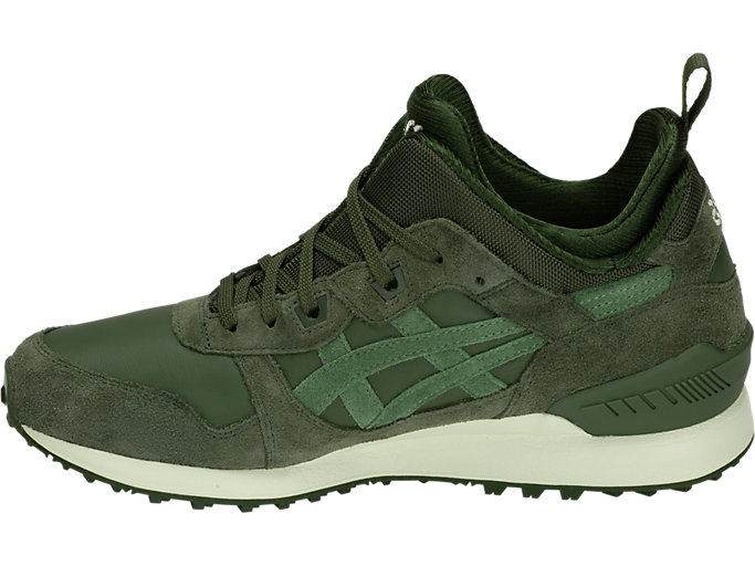 Left side view of GEL-LYTE MT, FOREST/MOSS