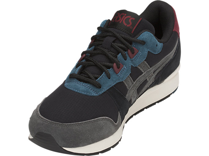 Front Left view of GEL-LYTE, BLACK/DARK GREY