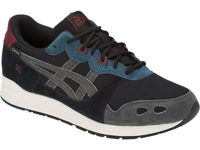 Front Right view of GEL-LYTE, BLACK/DARK GREY