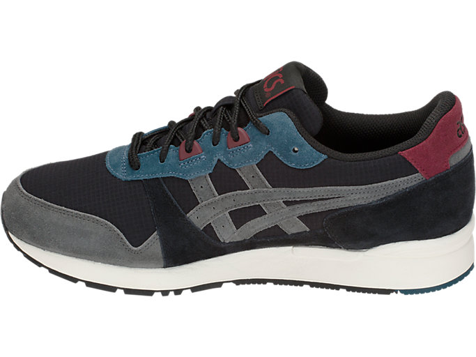 Left side view of GEL-LYTE, BLACK/DARK GREY