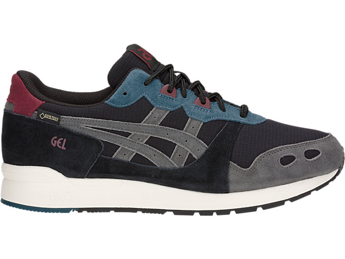 Right side view of GEL-LYTE, BLACK/DARK GREY