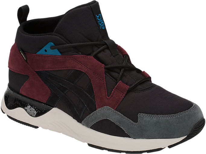 Front Right view of GEL-LYTE V SANZE MT G-TX, BLACK/BLACK