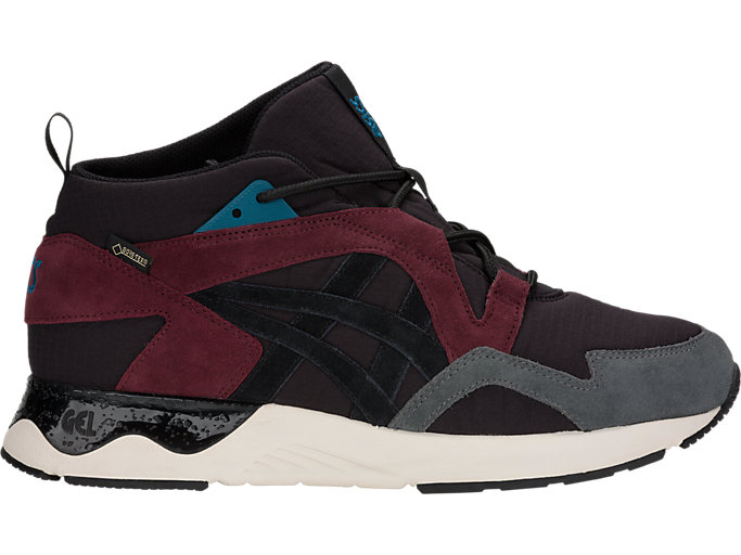 Right side view of GEL-LYTE V SANZE MT G-TX, BLACK/BLACK