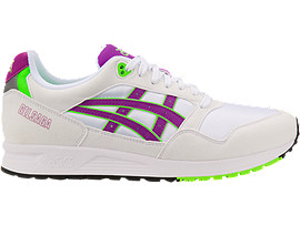 GEL-SAGA, WHITE/ORCHID