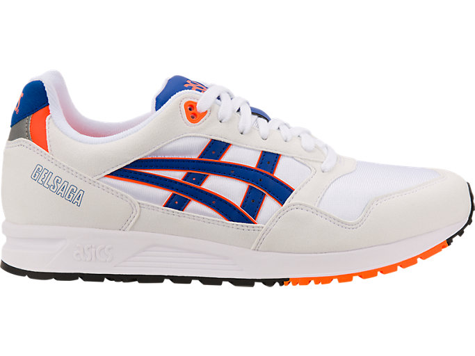 Men's GEL Saga | WhiteASICS Blue | Sportstyle | ASICS