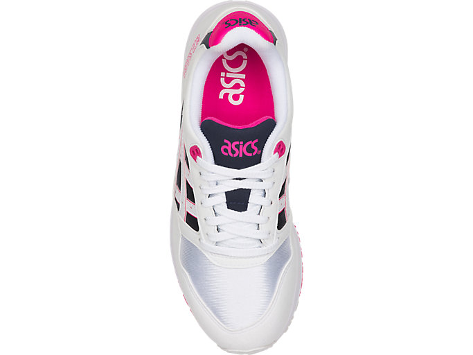 Top view of GEL-SAGA, WHITE/PINK GLO
