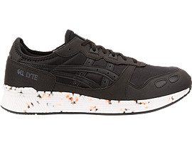 Right side view of HYPER GEL-LYTE, BLACK/BLACK