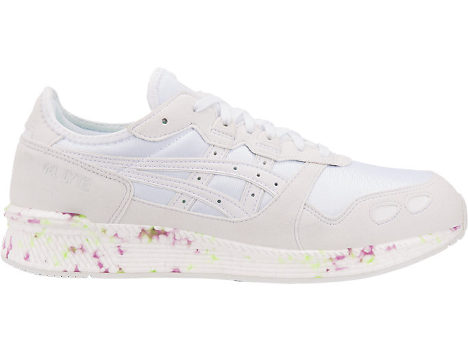 Right side view of HyperGEL-LYTE, WHITE/WHITE