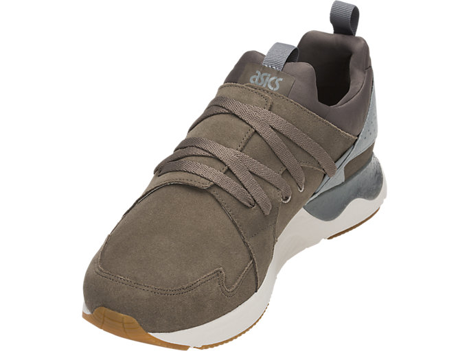 Front Left view of GEL-LYTE V SANZE TR, DARK TAUPE/DARK TAUPE