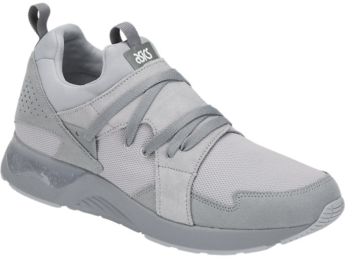 Front Right view of GEL-LYTE V SANZE TR, MID GREY/MID GREY