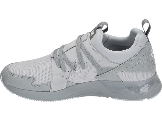 Left side view of GEL-LYTE V SANZE TR, MID GREY/MID GREY