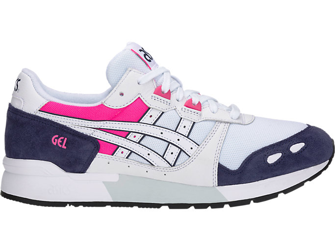 Right side view of GEL-LYTE, WHITE/PEACOAT
