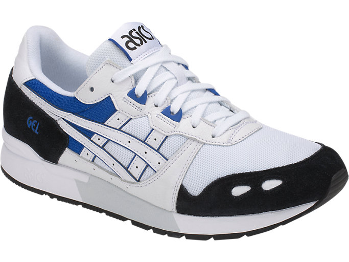 Front Right view of GEL-LYTE, WHITE/ASICS BLUE