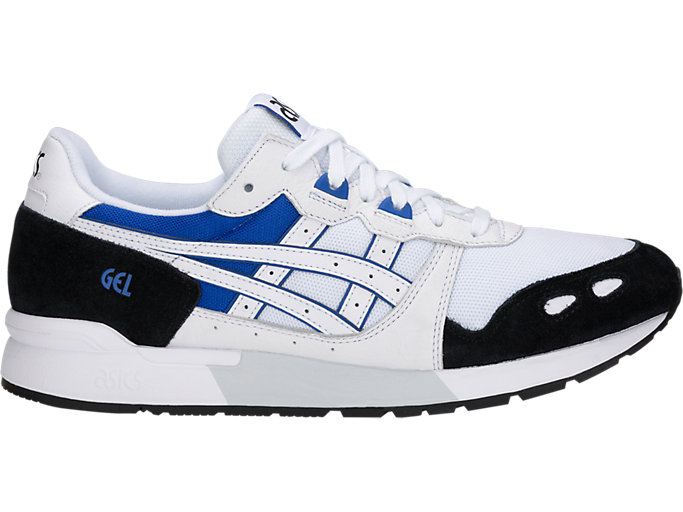 Right side view of GEL-LYTE, WHITE/ASICS BLUE
